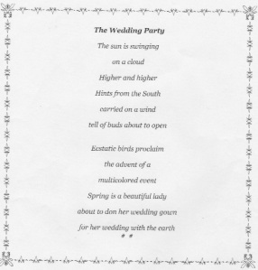 weddingpoem